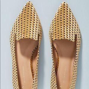 Anthropologie Velvet Loafers - size 8